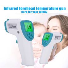 купить Infrared Forehead Baby/Adult Digital Thermometer Body thermometer thermometer No-contact Temperature Measurement Device With LCD дешево