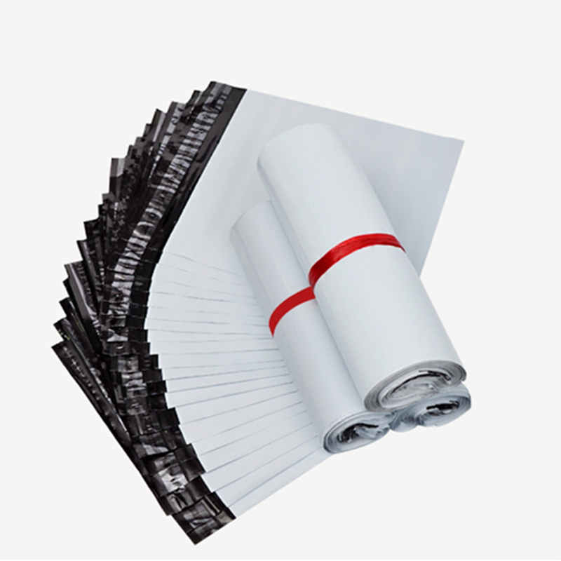 e336b8eecffb 50Pcs Lot White Courier Bag New Material Mailer Postal Plastic Storage Bags  Envelope Shipping Mailing