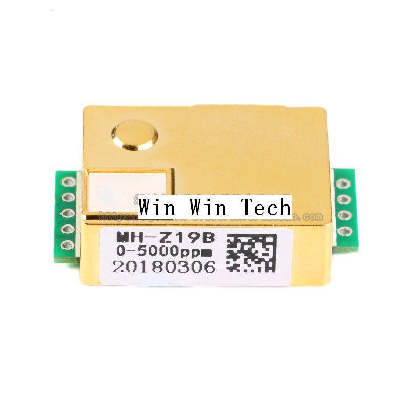 Sensor de Dióxido de Carbono Sensor de Co2 para Co2 Frete Grátis Mh-z19b Co2 Módulo Sensor Infravermelho Monitor 1 Pcs Mh-z19