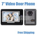 DIYSECUR High Quality 7 inch TFT Color LCD Display Video Door Phone Visual Intercom Doorbell Hands Free IR Night Vision