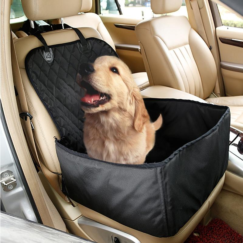 LumiParty Car Rear Back Seat Cover Blanket for Pet, Dogs Waterproof Cushion Bench Seat Protector-30