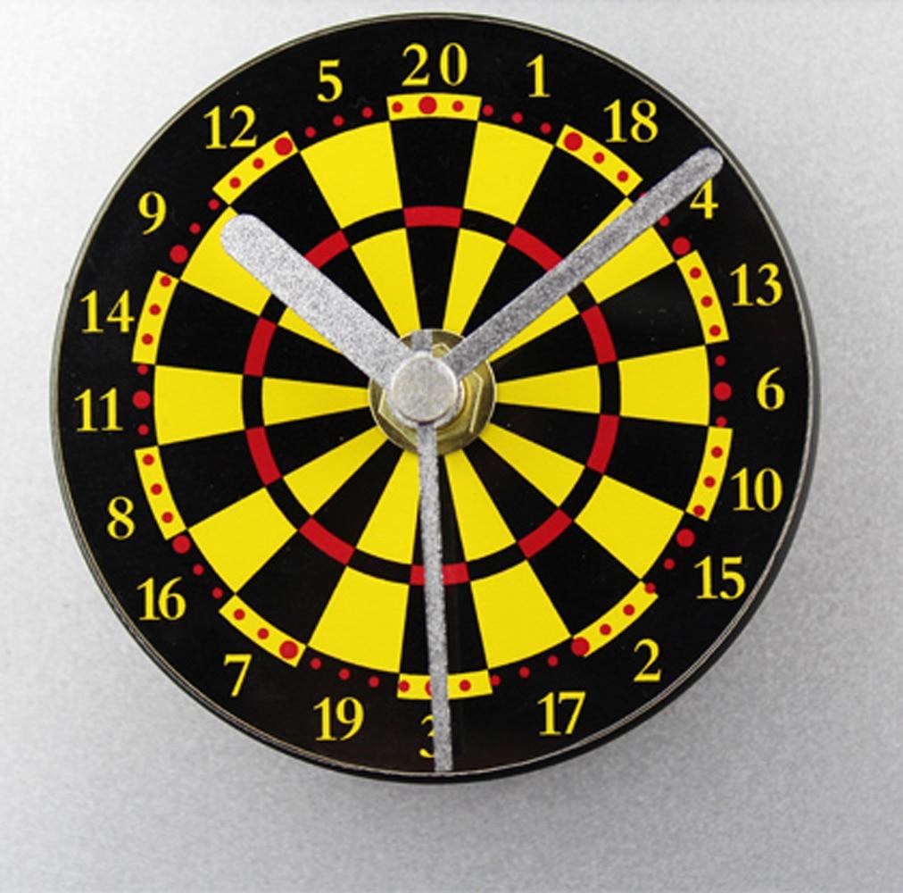 online get cheap creative clocks design aliexpresscom  alibaba  - target round modern design creative clock refrigerator magnet message clocksilent nonticking clock(