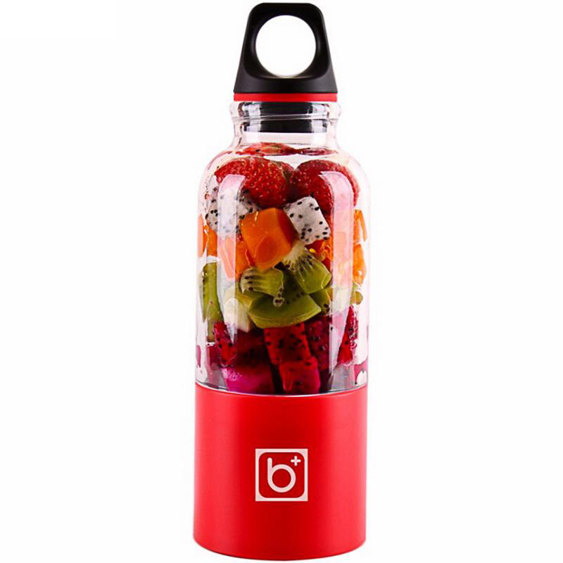 500 ml portátil taza exprimidor USB recargable eléctrica automática Bingo verduras zumo de frutas herramientas Copa Blender Mixer botella