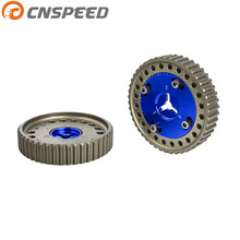 CNSPEED 2pcs Aluminum Upgrade Engine Cam Gear pulley For Mazda MX5 BP6 BP8 NB6 NB8 Cam Pulley Pullys Gears YC100803
