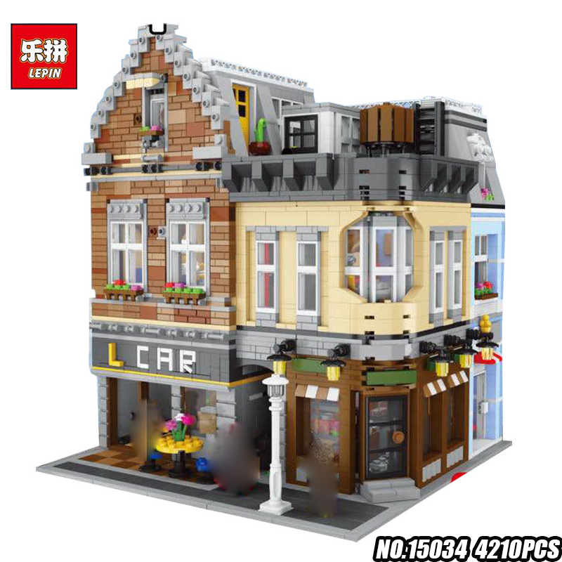IN STOCK LEPIN 15034 4210Pcs Genuine Series MOC The New Building City Set Building Blocks Bricks Toy Model Christmas Gifts a toy a dream lepin 02043 718pcs building blocks bricks new genuine city series airport terminal toys for children gifts