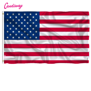 Candiway 2x3 Foot American National Flag USA Flying Flag US Pennant The United States of America Banner Patriot Flag NN004
