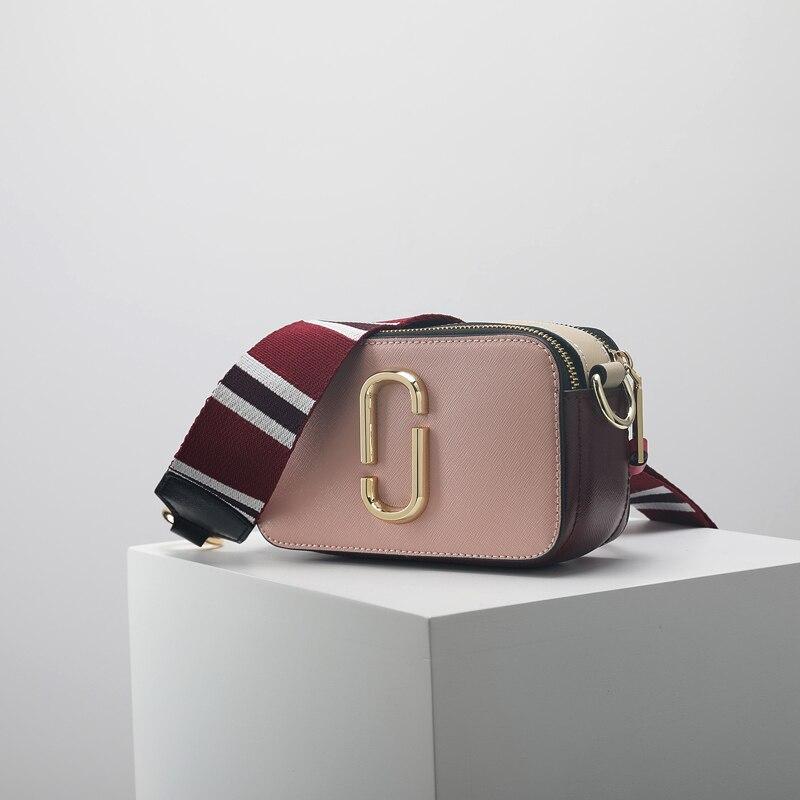 Cuir blanc Style Véritable D'épaule Simple Femme Personnalisé 2018 Imprimer De Nouveau Palm Sac Bleu rose En Mode Flap Photo HUxqFzwx