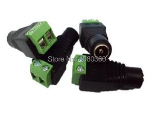 Image 1 - 100 adet/grup 5.5mm x 2.1mm DC dişi konnektör, DC güç konnektör adaptör jak, ücretsiz kargo