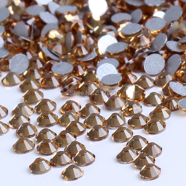 1440p SS6 2mm LT.COL.Topaz Crystal Nail Rhinestones For Nails 3D Nail Art  Decorations Nail Tips DIY Bead Hot Sale 8039f7e66f23