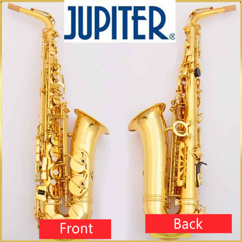 Professional Musical Instrument New JUPITER JAS-769 Sax Alto Eb Tune Saxophone Gold Lacquer Sax With Case Mouthpiece Free blue gold lacquer falling tune eb alto sax instruments alto saxhorn professional performance brass f saxophone bag sax cover