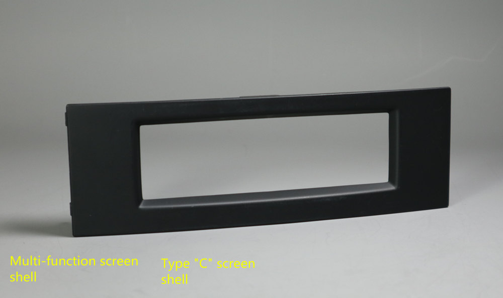 Applicable To Peugeot Citroen Multi-function C-screen Shell CD Player Position Screen Replacement Housing Screen Fixed Face Fram