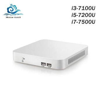 Mini PC Intel Core Gen 7th PC i3 7100U i5 7200U i7 7500U Windows 10 Mini Computer Desktop HDMI WIFI USB3.0 gaming pc
