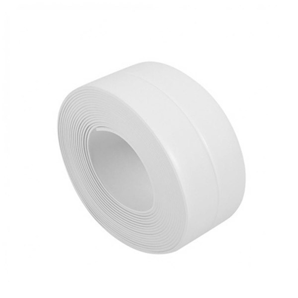 White Protective Sealer Tape Self Adhesive Bath Wall Sealing Strip Sink Basin Edge Trim Kitchen Tool Moisture-proof Anti-mildewWhite Protective Sealer Tape Self Adhesive Bath Wall Sealing Strip Sink Basin Edge Trim Kitchen Tool Moisture-proof Anti-mildew