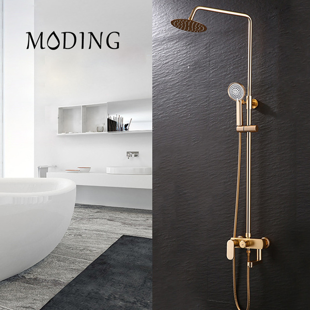 MODING Shower Faucet Sets Bathroom Bath Wall Mounted Hand Held ...