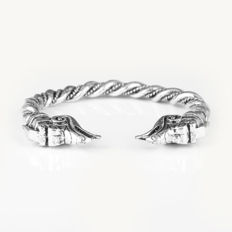 MQCHUN Viking Drache Armreifen Armbänder männer Hip Hop Schmuck Vintage Stil Wristlest Reif für Geschenke-25