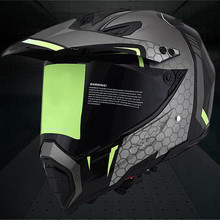Classic Motocross Helmets ATV MTB motorcycle helmet with lens Motorcycle helmets downhill helmet Fuera de la carretera casco стоимость