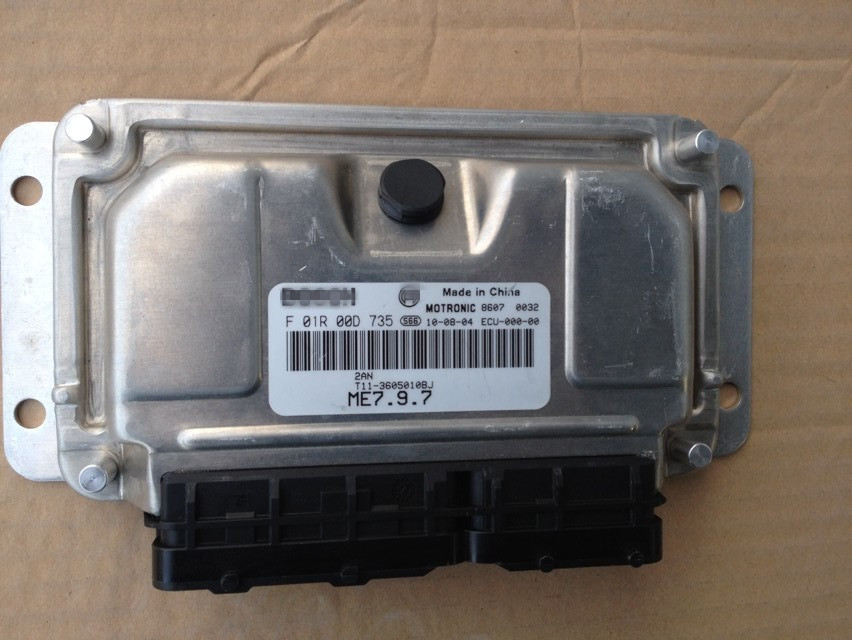 ENGINE CONTROL UNIT FOR CHERY TIGGO ECU FOR TIGGO T11-3605010BJ T11-3605010FA цена и фото