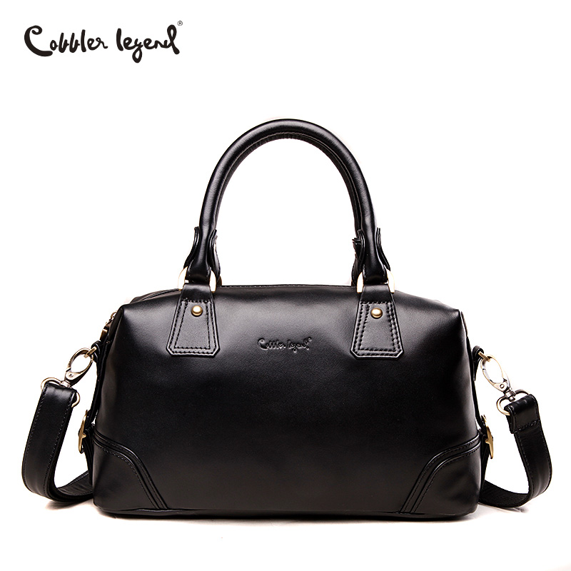 цены на Cobbler Legend Designer Women Genuine Leather Bag Female Messenger Bags Tote Luxury Handbags Famous Brands Shoulder Bag Casual