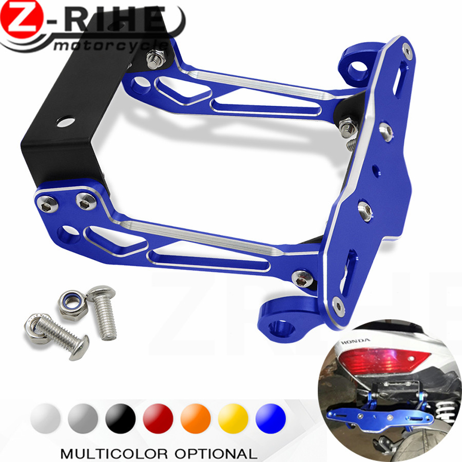 Fender Eliminator motorcycle License Plate Bracket Ho Tidy Tail Universal for honda cbr600rr cbr954rr cbr 600 954 rr  z800 z900 for suzuki gsx r600 k6 motorcycle fender eliminator license plate bracket tail tidy tag rear for suzuki gsxr750 k6 2006 2007