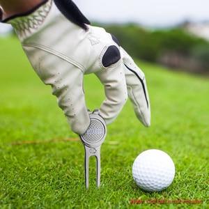 Image 5 - גולף מרקר Pitch מארק ירוק Divot תיקון כלי גולף קלשון גולף עזרי הדרכה כדור כלי אבזרים