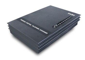 NEW-3 Linhas + 8Ext PBX/Telefone Switch/Mini PABX/SOHO PBX/PABX Pequeno-frete grátis
