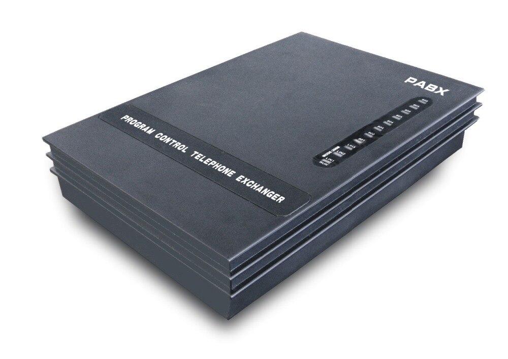 Nouveau-3 lignes + 8Ext PBX/commutateur téléphonique/Mini PABX/SOHO PBX/petit PABX-livraison gratuite