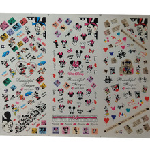 цена на 2019 New Water Decals Cartoon/Animal/Butterfly/Flower Nail Stickers Water Transfer Decal Slider Watermark Manicure For Nails Art