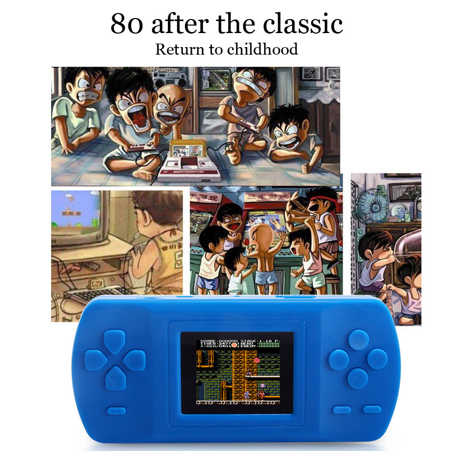 BL-809 LCD Color Screen Handheld Game Player 3-10 Years 2.0 Inch AVG Adventure/ACT Action /RPG Role Play Game With Built-in 228