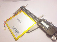 3 7V 4000mAH Polymer Lithium Ion Battery Li Ion Battery For Tablet Pc 7 Inch 8