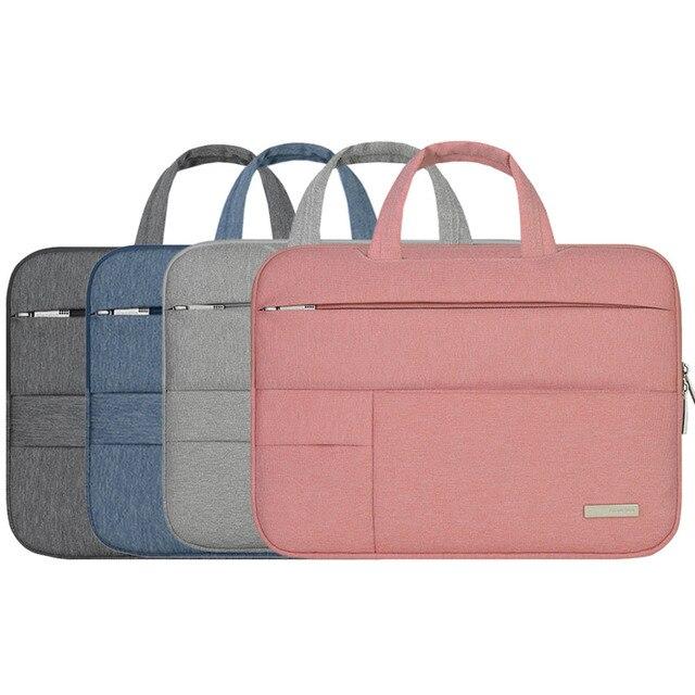Portable handbag notebook bag Men Felt Laptop Sleeve pro 13 air 11 13 retina 13 protector for apple mac macbook case