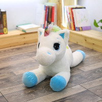 Kneeling Unicorn Doll Small Pegasus Plush Toy Cute 385