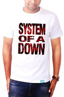 2018 Latest T Shirt Fashion New Style Men System Of A Down T Shirt Band T