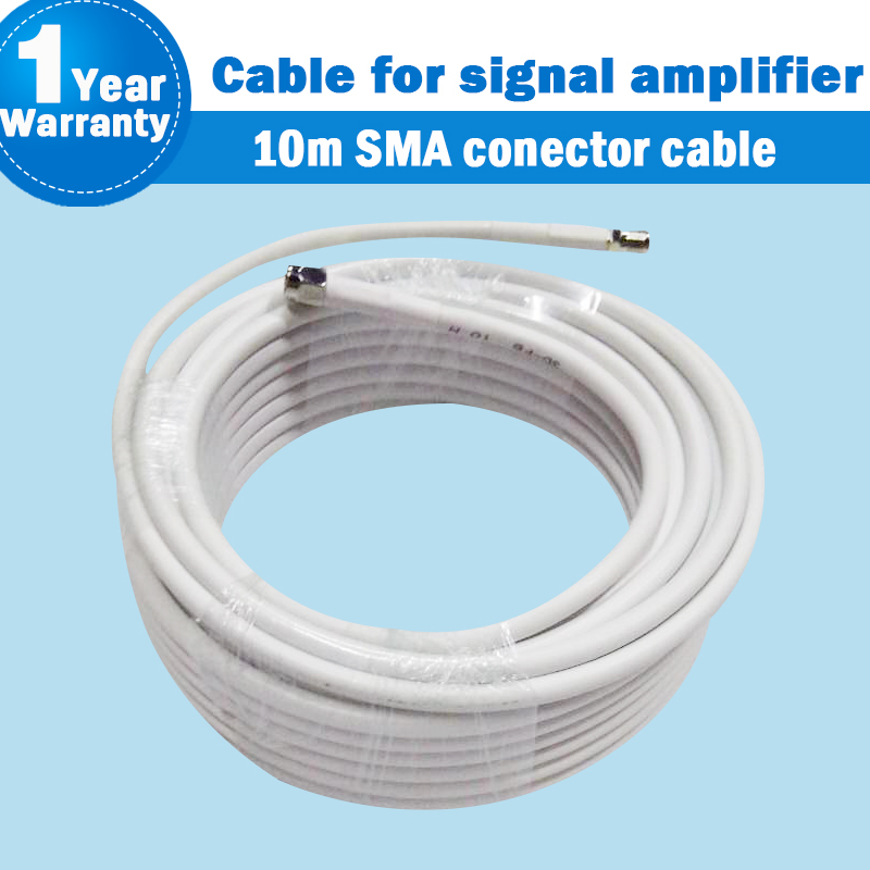 10 Meters 3D High Quality SMA Connector SMA Male To SMA Female Connector For Mobile Phone Signal Booster Amplifier 10m Cable 33