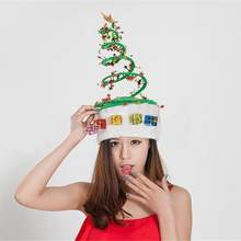 Merry Christmas Hat Cap Party Favor Supplies 2019 Funny Navidad Christmas  Home Decor Xmas Natal New Year Santa Claus Cap Hat 31f8bcf1249e