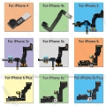 Original câmera frontal com sensor flex cable para iphone 4 4s 5c 5S 5 5G 6 6 s Plus Substituição Cabo Flexível Do Telefone fita