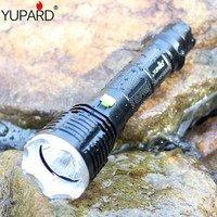 YUPARD Diving diver Underwater waterproof XM L2 LED Flashlight Torch Lamp Ligh T6 one mode 18650/26650 rechargeable battery