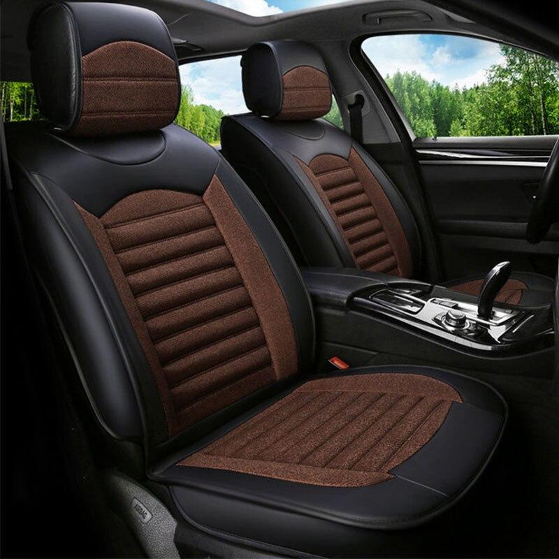 Universel de voiture housse de siège voitures sièges couvre pour volkswagen vw polo 6r 9n berline santana volante caddy touareg 2009 2008 2007 2006