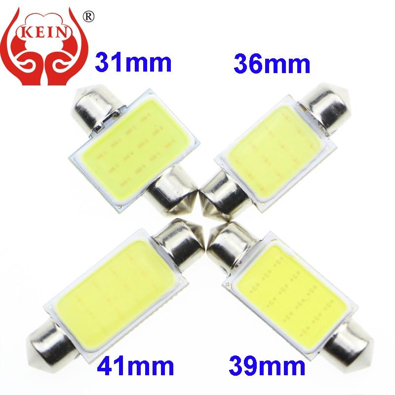 KEIN R C3W C5W C10W LED COB Car reading light Door Light The trunk light License