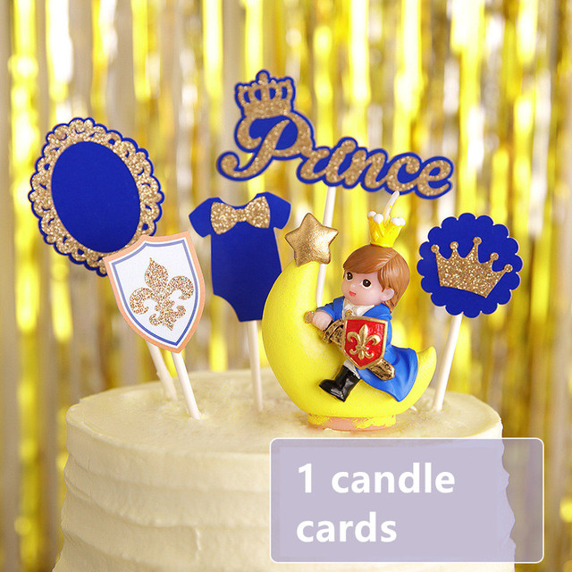 Birthday Candle With Cards The Little Prince Boy Baby Kid Birthday