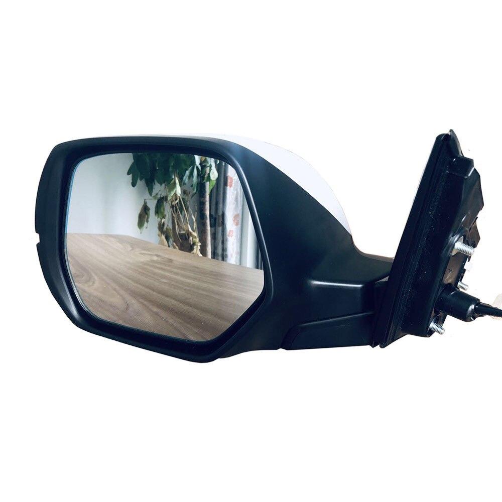 Miroir latéral de conducteur d'indicateur chauffant en verre réglable par puissance pour Honda CRV 2017-2019