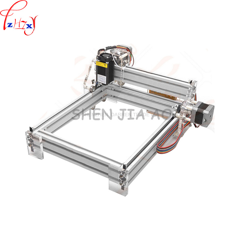 1 PC 1.5 W DIY Mini Máquina de Gravação A Laser 1500 mW DIY De Desktop Máquina de Gravura Do Gravador Do Laser Foto Impressora CNC
