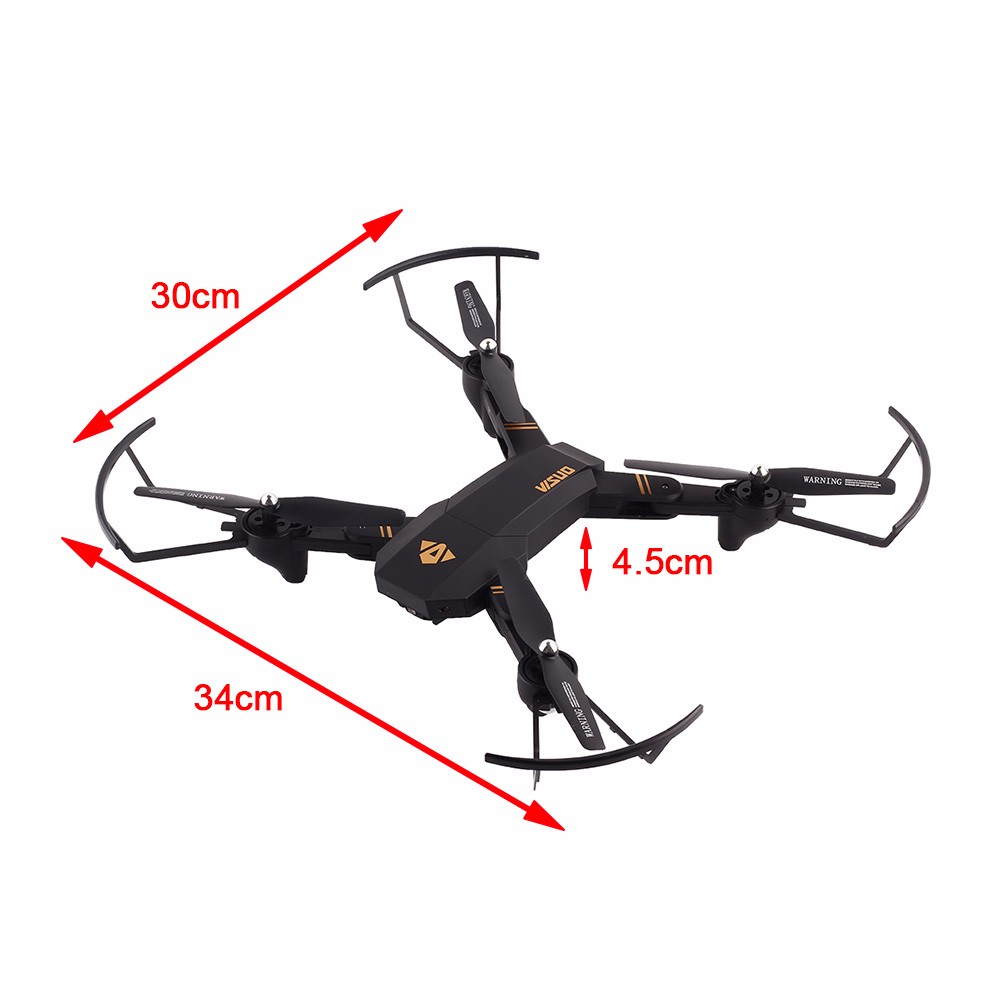 Selfie Drone With Camera XS809 XS809w Fpv Dron Rc Drone Rc Helicopter Quadcopter Mini Foldable DroneToy For Kids Gift XS809HW 4