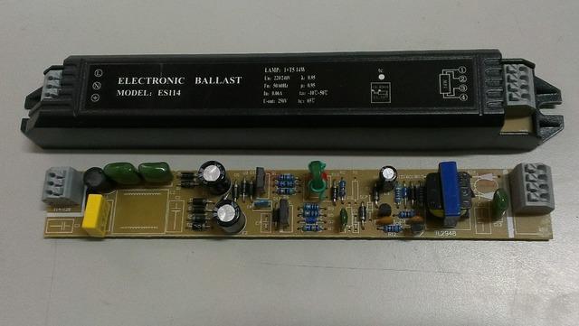 Electrónica de lastre 14 w 1x14 W balasto electrónico para lámparas fluorescentes T5 220 V