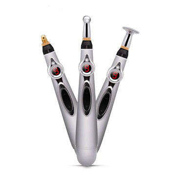 3 Ways of Massage Electronic Acupuncture Pen