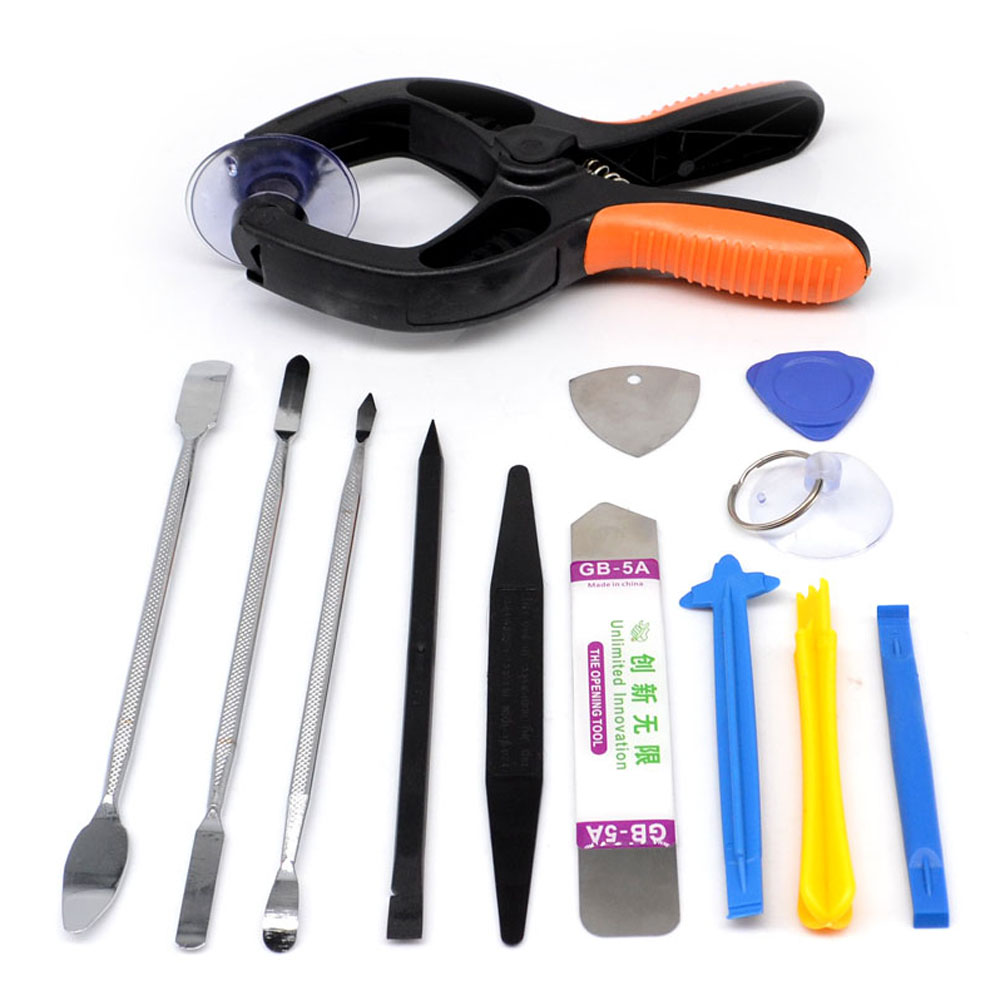 12in1 LCD Screen Opening Pliers Pry Tools  For iPhone 4s 5s 6 iPad iPod Cellphone Smart Phone Tablet PC Computer Repair Tool Kit