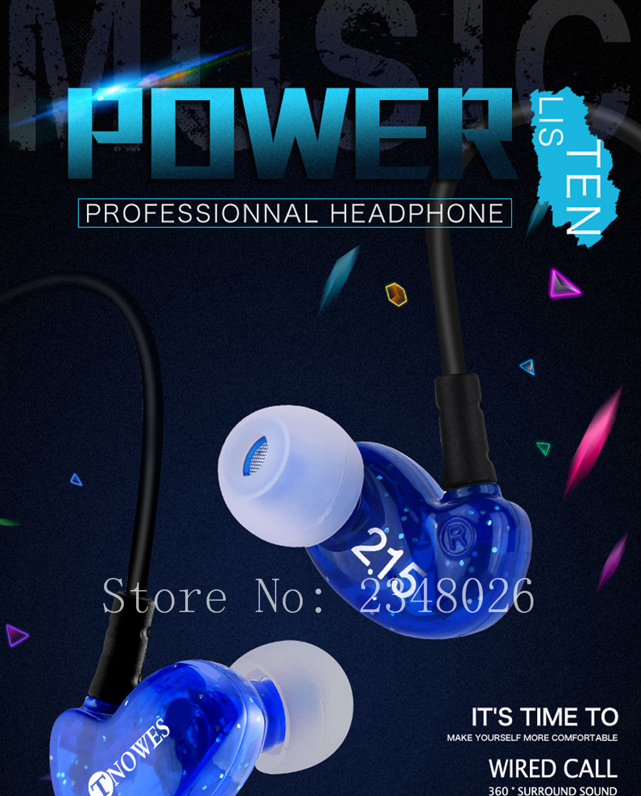 TN-01 Headphone earphone (5)