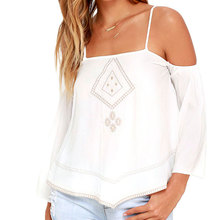 Fashion Tank Tops Fresh Art Style White Sun-top Embroidered Lady Loose Camis Homies Free Women Clothing