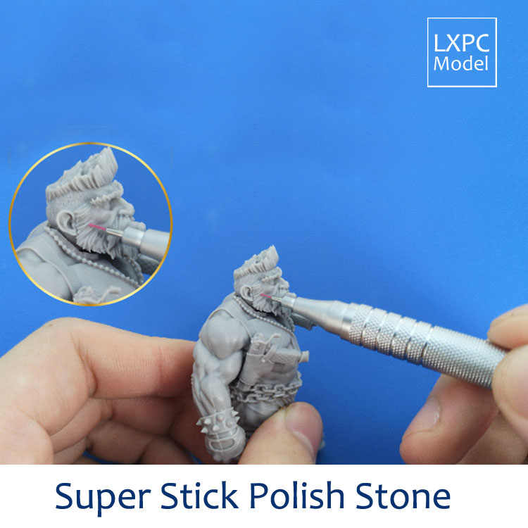 Super stick polish stone Model polishing pen Fiber ductile grinding rod Model precision grinding Tool