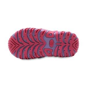 Image 5 - Apakowa חדש בנות ספורט חוף סנדלי מגזרת קיץ ילדי נעלי סגור הבוהן בנות סנדלי ילדי נעלי האיחוד האירופי 21 32