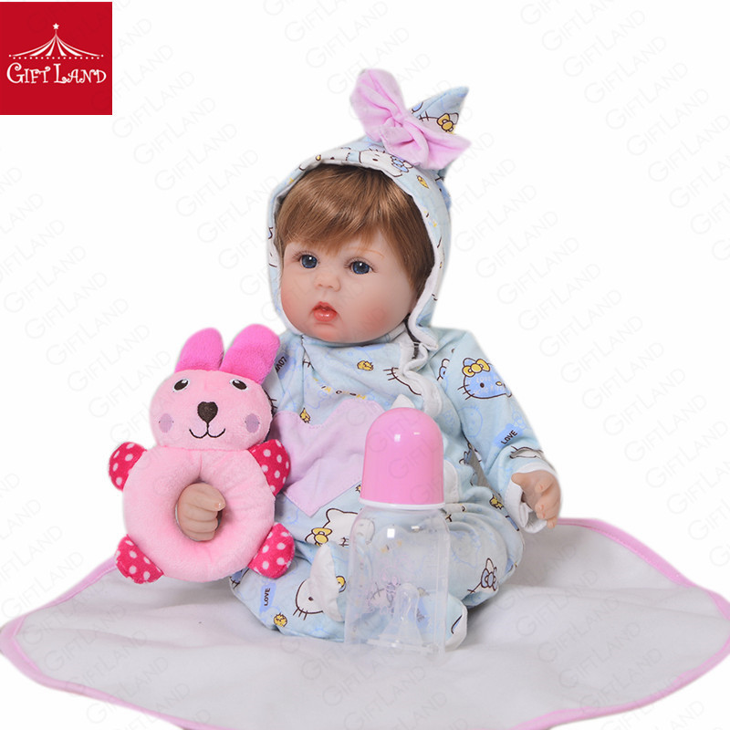Reborn Baby Doll Baby love doll cute bowknot Hello Kitty Cartoon Figure Super Christmas Gifts Baby Prince Baby Princess ToddlerReborn Baby Doll Baby love doll cute bowknot Hello Kitty Cartoon Figure Super Christmas Gifts Baby Prince Baby Princess Toddler
